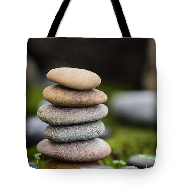 Stacked Stones B2 Tote Bag