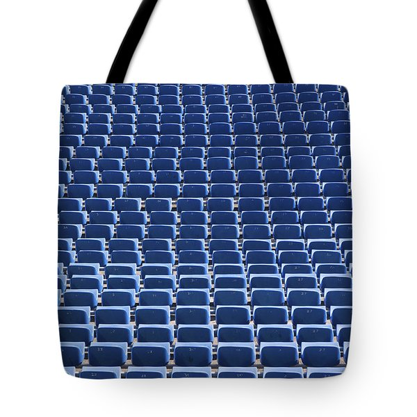 Stadium - Seats Tote Bag