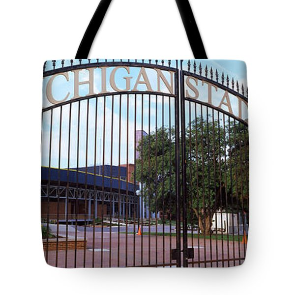 Stadium Of A University, Michigan Tote Bag by Panoramic Images