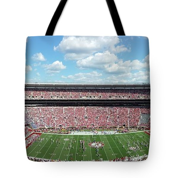 Stadium Panorama View Tote Bag