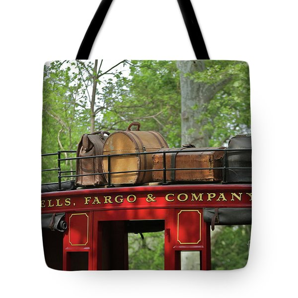 Stage Coach Tote Bag by Rick  Monyahan