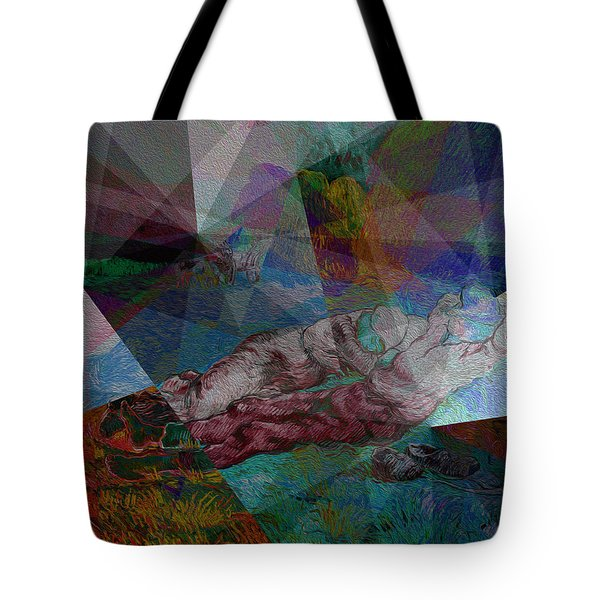 Stain Glass I Tote Bag
