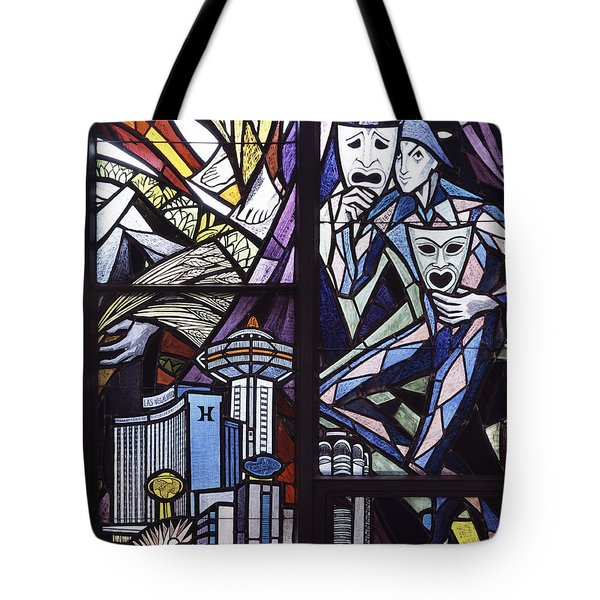 Stained Glass Tote Bag by Mountain Dreams