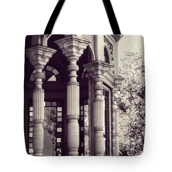 Tote Bag featuring the photograph Stained Glass Memories by Melanie Lankford Photography