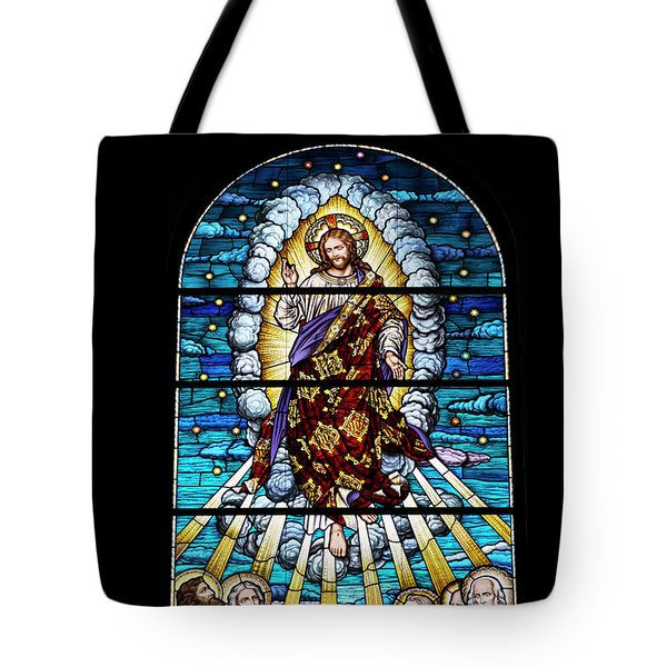Stained Glass Pc 02 Tote Bag by Thomas Woolworth