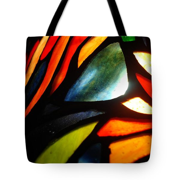 Stained Glass Seven Tote Bag