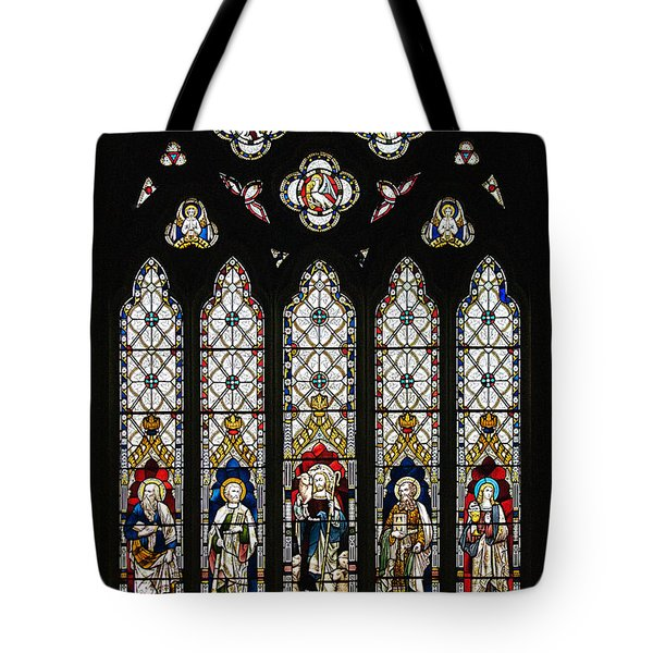 Stained-glass Window 1 Tote Bag by Susie Peek