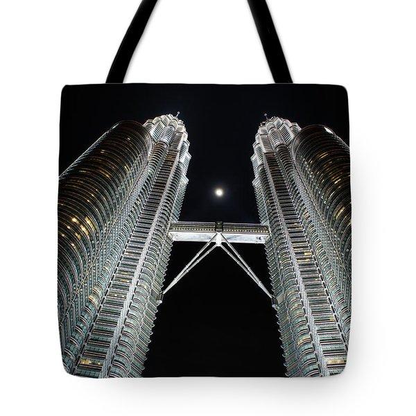 Stainless Steel Moon Tote Bag