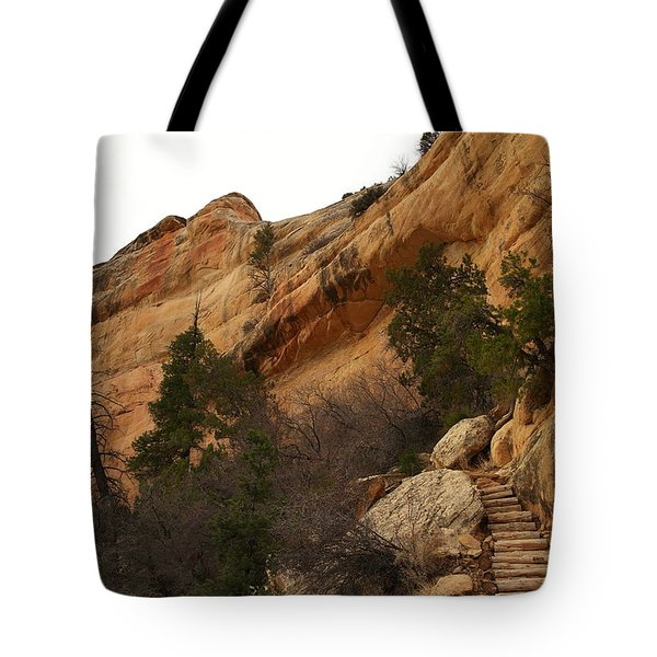 Stainrway Out Of Sipupu Canyon Tote Bag