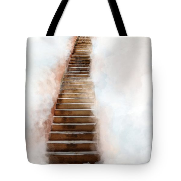 Stair Way To Heaven Tote Bag