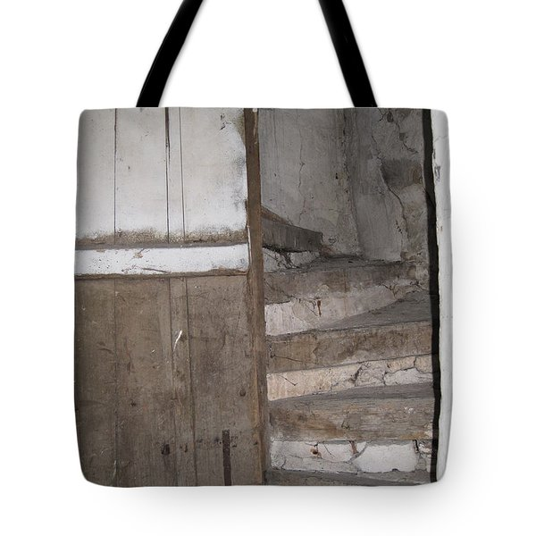 Tote Bag featuring the photograph Staircase by HEVi FineArt
