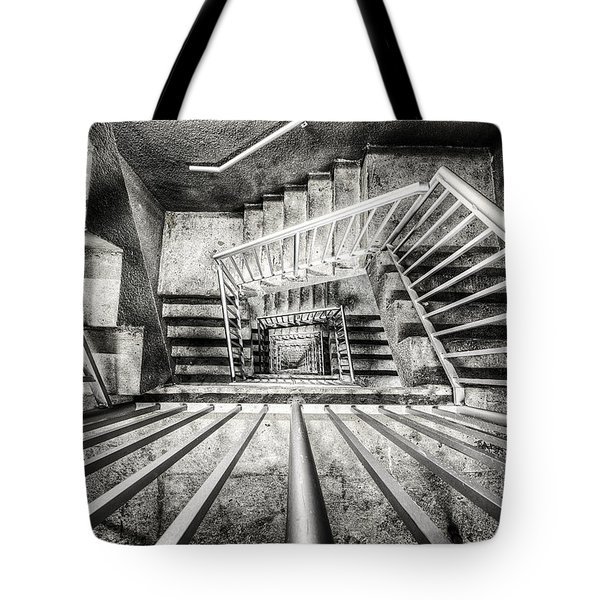 Staircase I Tote Bag by Everet Regal