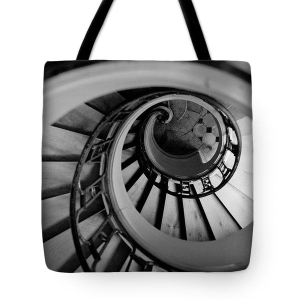 Staircase Tote Bag by Sebastian Musial