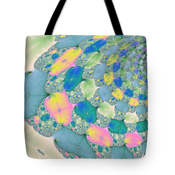 Staircase To Heaven Tote Bag by Angela A Stanton
