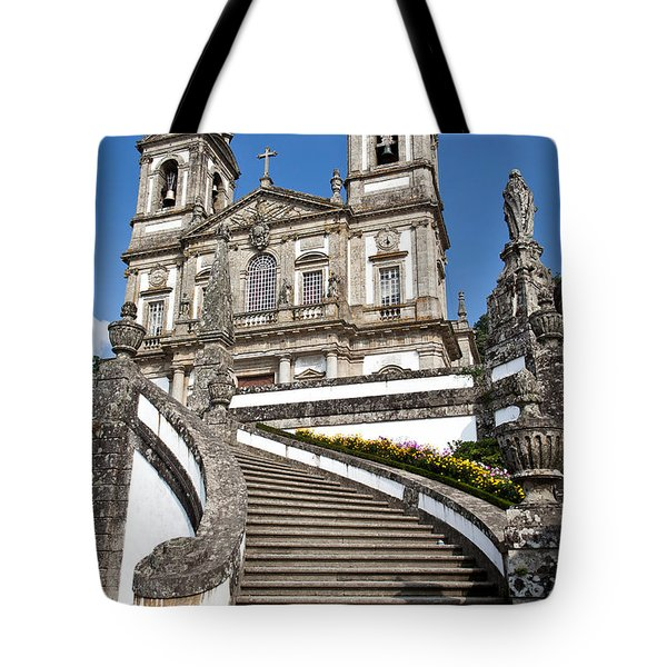 Staircase To Heaven Tote Bag by Jose Elias - Sofia Pereira
