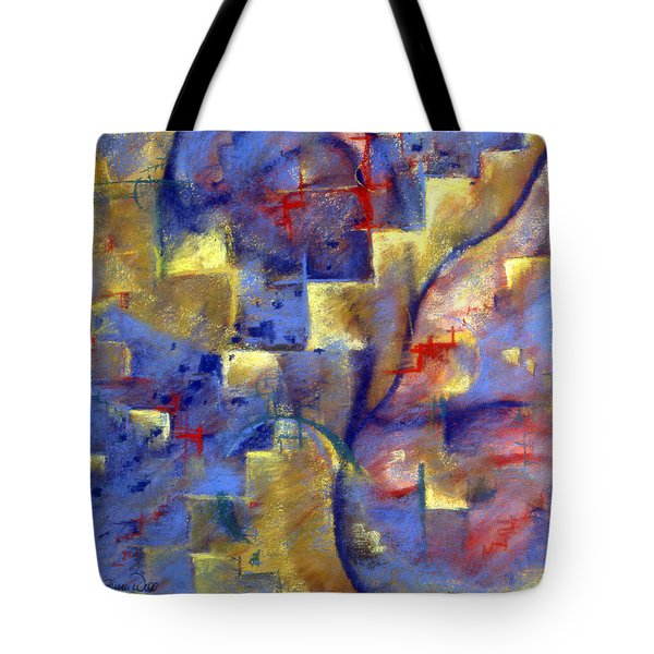 Staircases Tote Bag by Susan Will