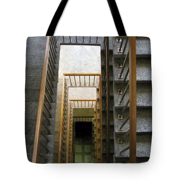 Stairs Tote Bag by Ausra Huntington nee Paulauskaite