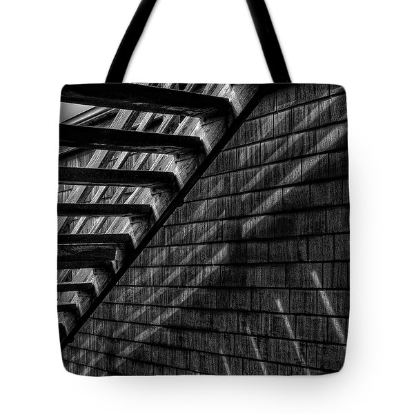 Tote Bag featuring the photograph Stairs by David Patterson