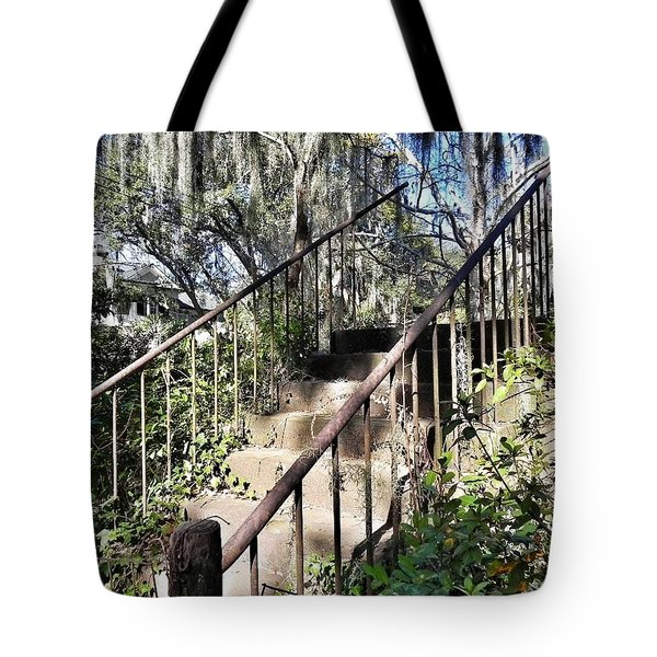 Stairs That Go Nowhere Tote Bag