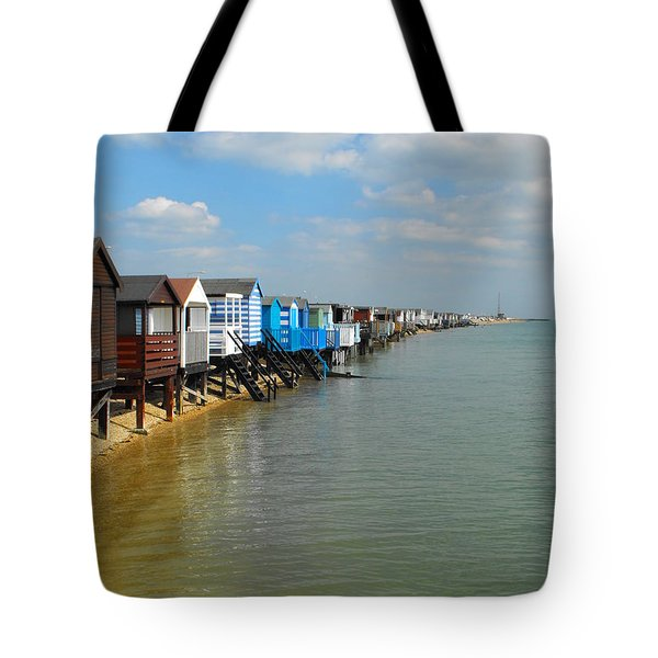Stairs To Sea Tote Bag