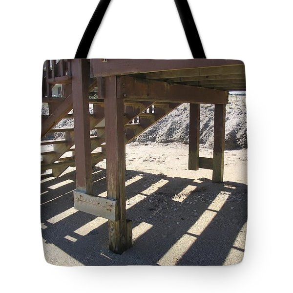 Stairs To The Beach Tote Bag