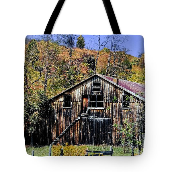 Stairs To The Loft Tote Bag