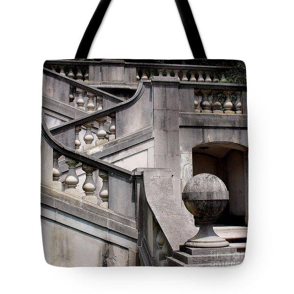 Stairway At Winterthur Tote Bag