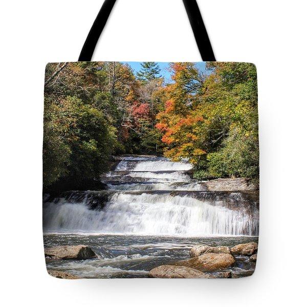 Stairway Falls Tote Bag
