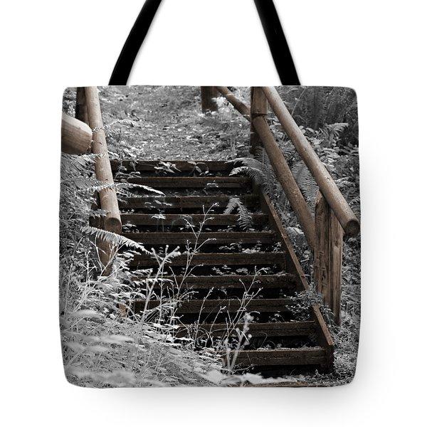 Stairway Home Tote Bag