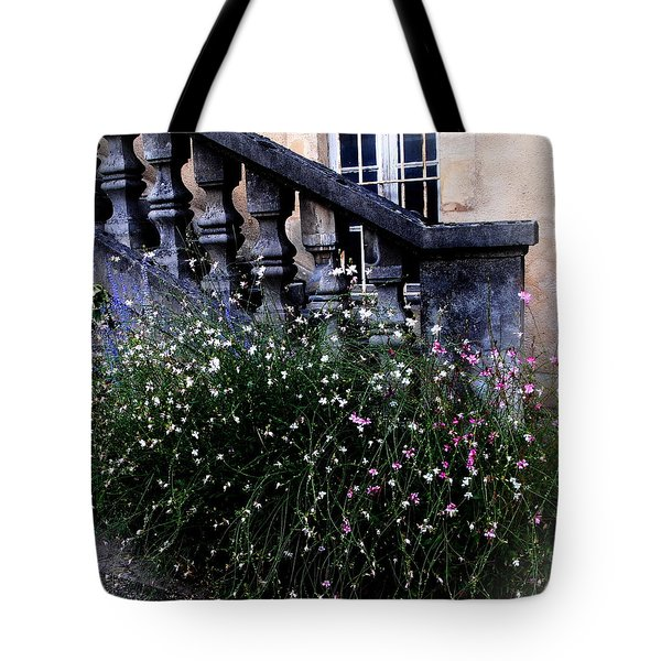 Tote Bag featuring the photograph Stairway In Sarlat France by Jacqueline M Lewis