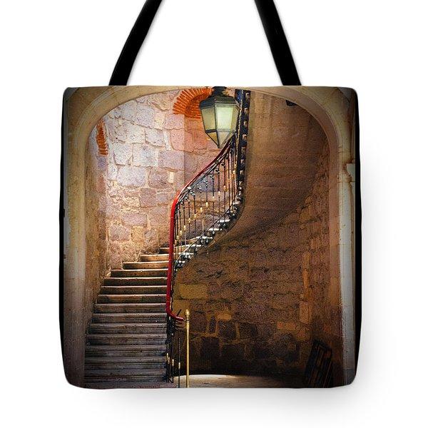 Stairway Of Light Tote Bag