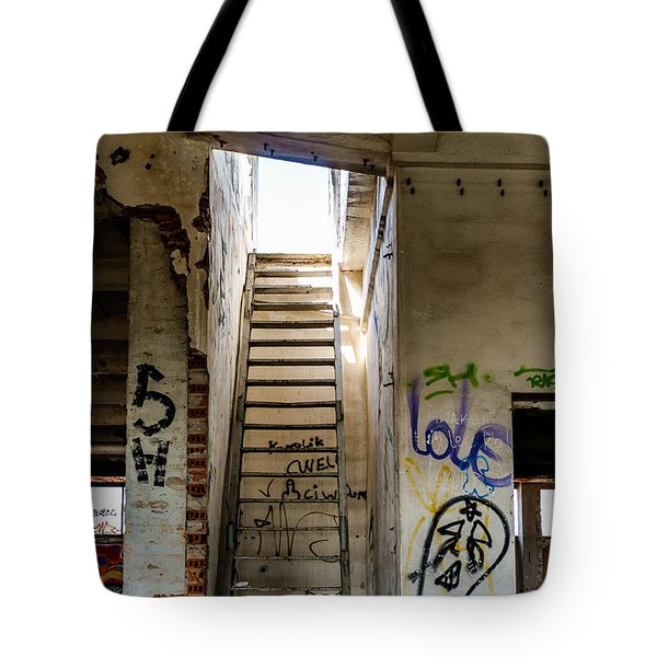 Stairway To Heaven? I Don't Think So... Tote Bag