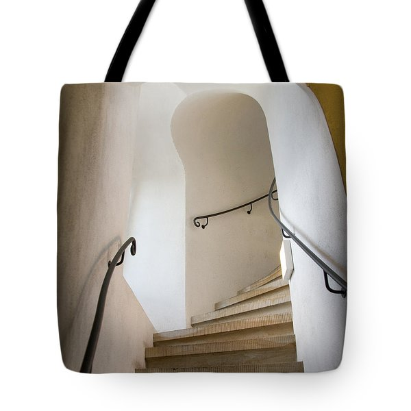 Stairway To Heaven Tote Bag by William Beuther