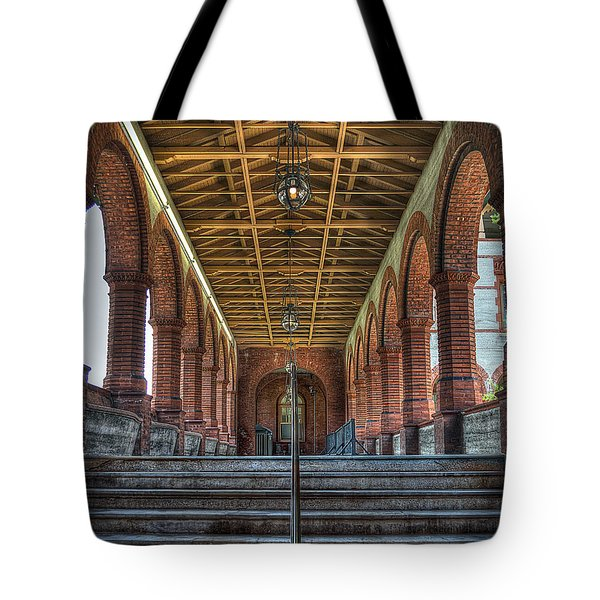Stairway To History Tote Bag