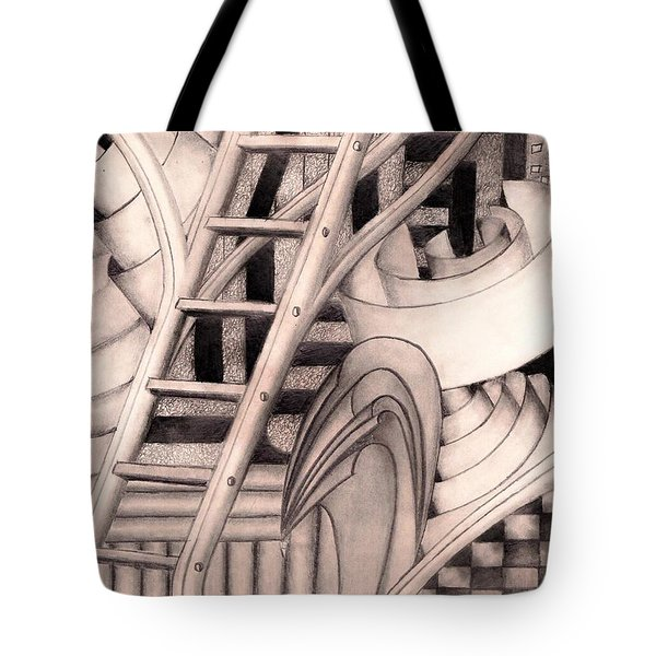 Stairway To.... Tote Bag
