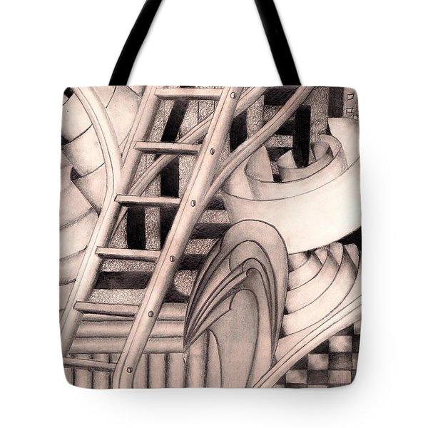 Stairway To.... Tote Bag by John Stuart Webbstock
