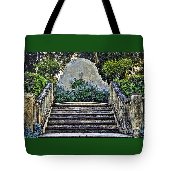 Stairway To Nowhere Tote Bag by Kaye Menner