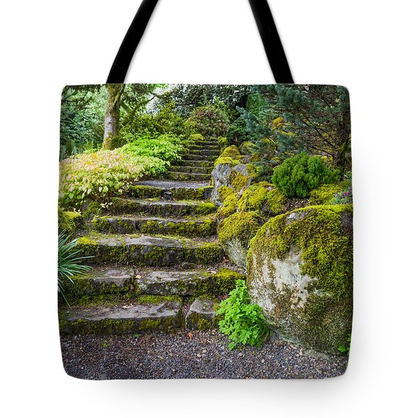 Stairway To The Secret Garden Tote Bag