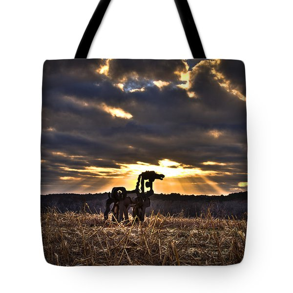Stairways To Heaven The Iron Horse Art Tote Bag