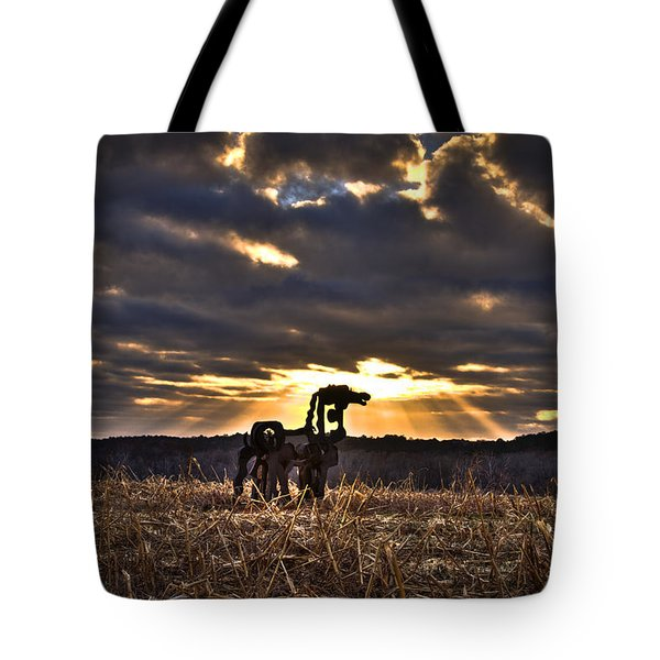 Stairways To Heaven The Iron Horse Tote Bag
