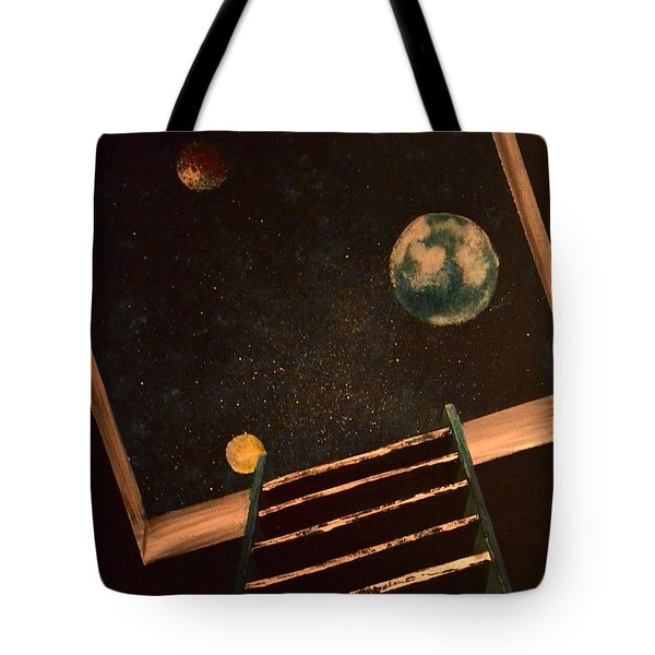 Stairwell To Heaven Tote Bag
