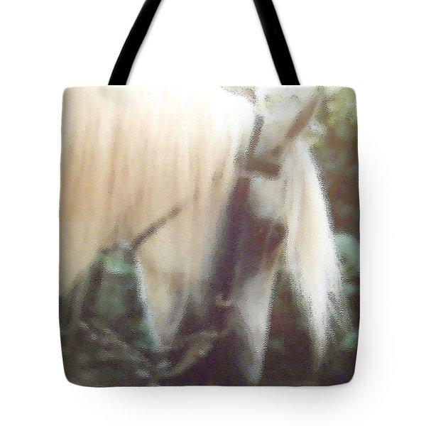 Stallion Tote Bag by Patricia Keller