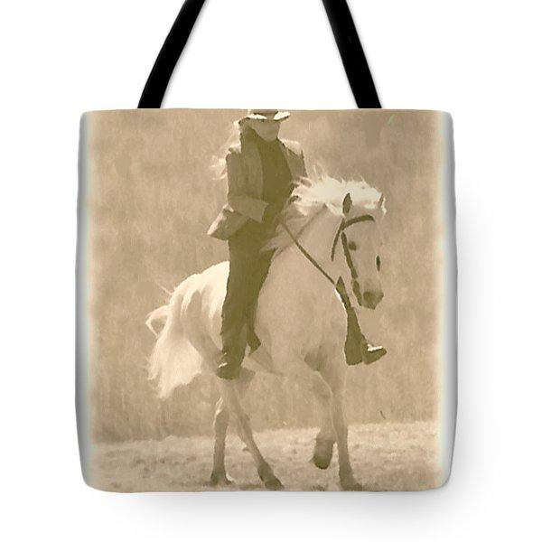 Stallion Strides Tote Bag