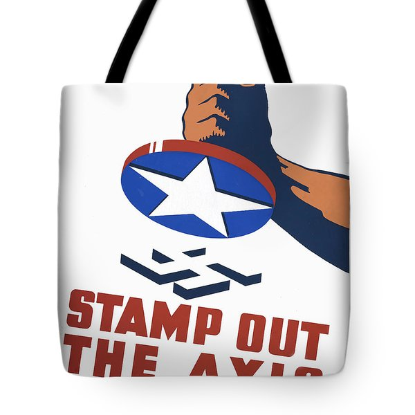 Stamp Out The Axis Tote Bag by Unknown