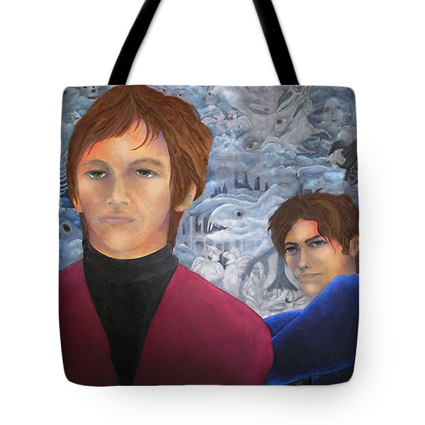 Stan And Larry Rice 1965 Tote Bag