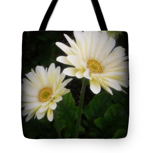 Stand By Me Gerber Daisy Tote Bag by Lingfai Leung
