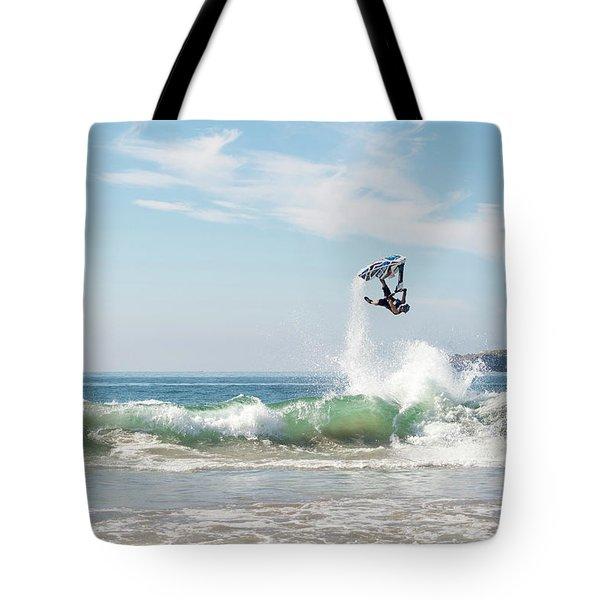 Stand Up Jet Ski Backflip Nac Nac Tote Bag