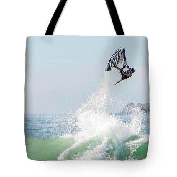 Stand Up Jet Ski Barrel Roll Nac Nac Tote Bag