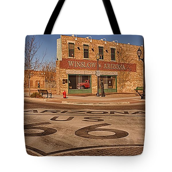 Standin' On The Corner Park Tote Bag