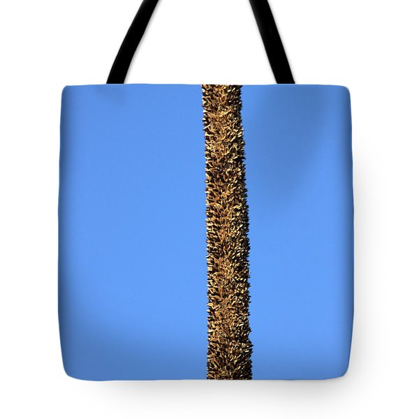 Tote Bag featuring the photograph Standing Alone by Miroslava Jurcik